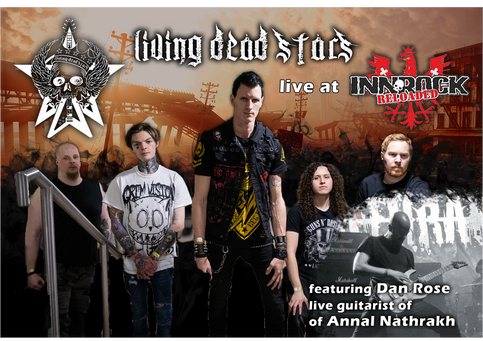 Living Dead Stars to Headline InnRock Reloaded 2020