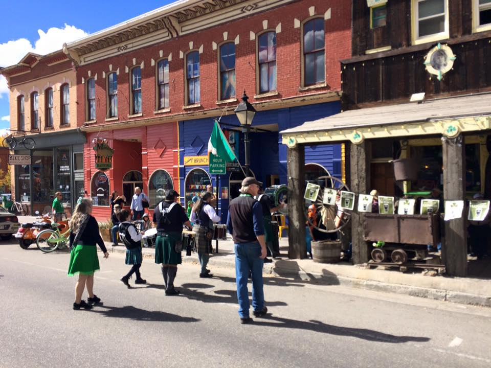 Practice St. Patrick's Day Parade