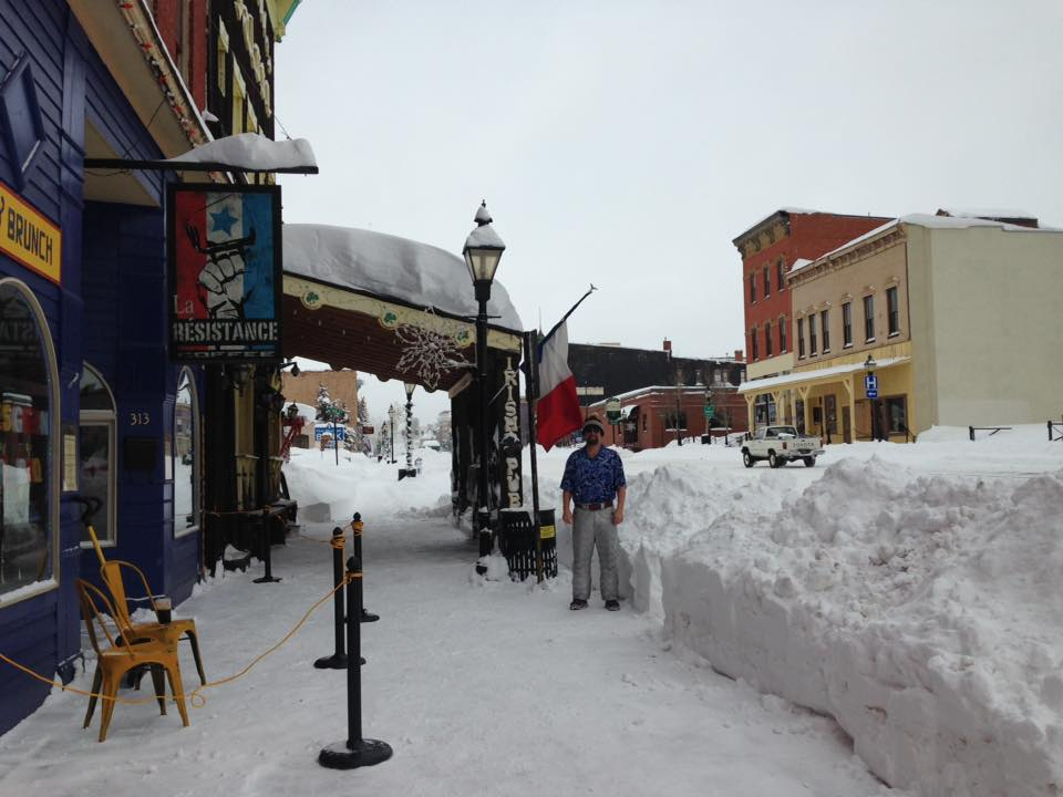 Leadville Snow Day!