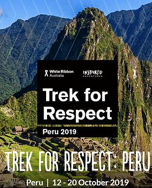 Trek for Respect - Peru Social Media Til