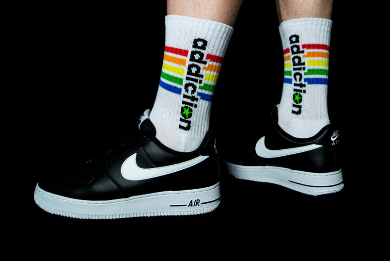 addiction Pride Socks