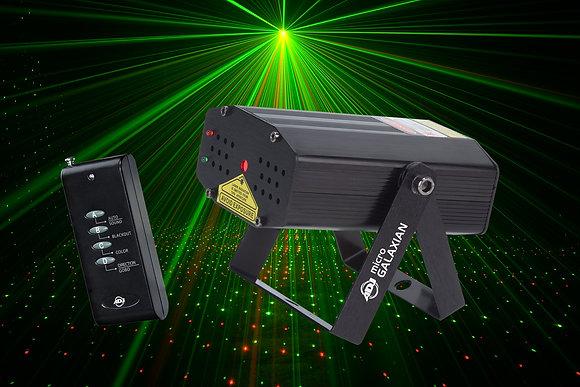 Laser rouge/vert Gobo
