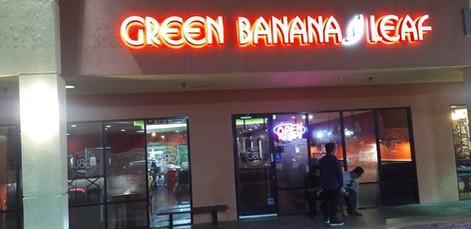 Green Banana Leaf Artesia Exterior