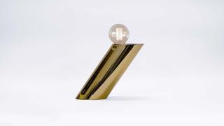 Aslant Lamp - Golden Bronze Tint