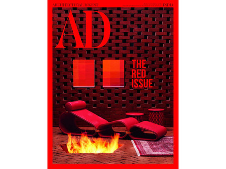 Architectural Digest India - The Red Issue