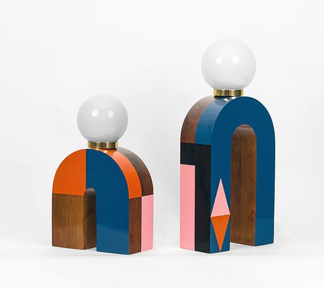 n-Lamps (large pair)