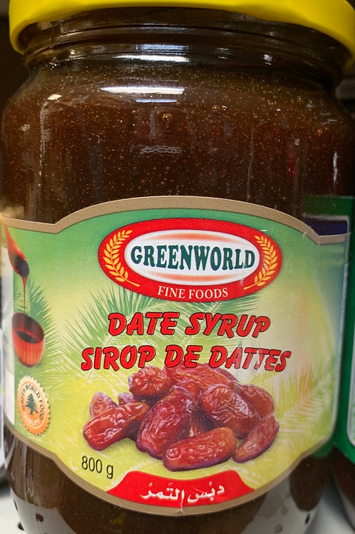 Green Word Date Syrup