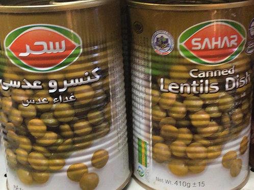 Sahar Can Foods Lentils Household