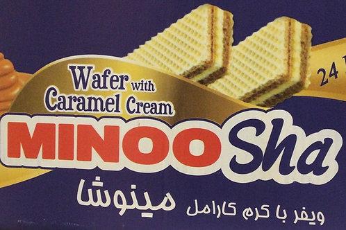 Minosha wafer Caramel Cream