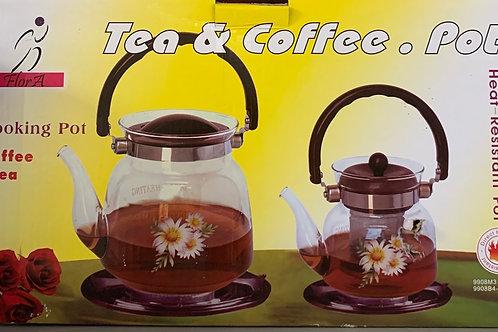 Flora Tea & Coffee & Coffee & Tea & Coffee Pot
