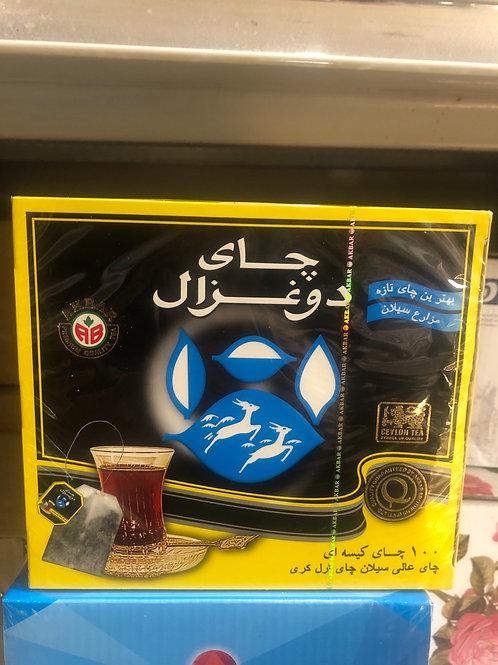 Do Ghazal Tea Bags Black