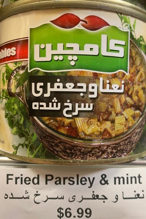 Kamchin Fried Parsley and Mint