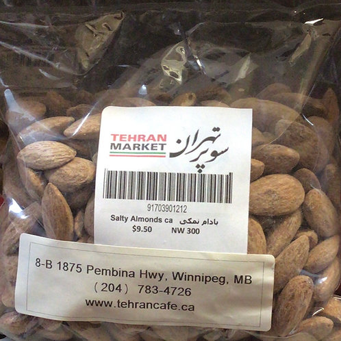 Tehran Market Salty Almonds