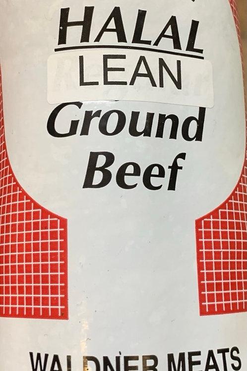 Halal Lean Ground Beaf