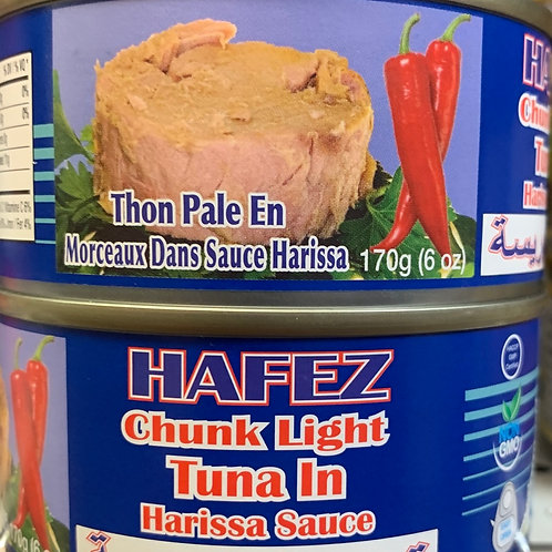 Hafez Chunk Light Tuna in Hallissa Sauce