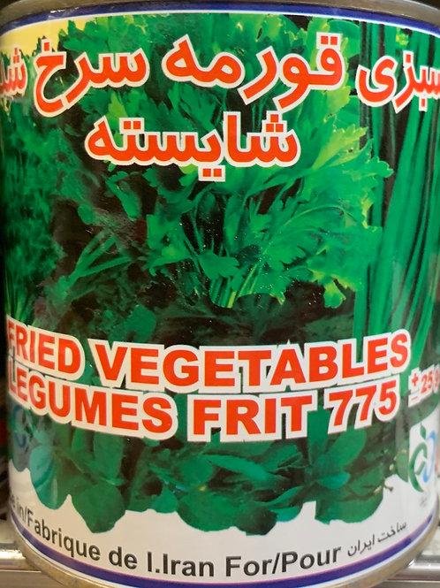 Shayesteh Fried Ghormeh Sabzi Vegetables