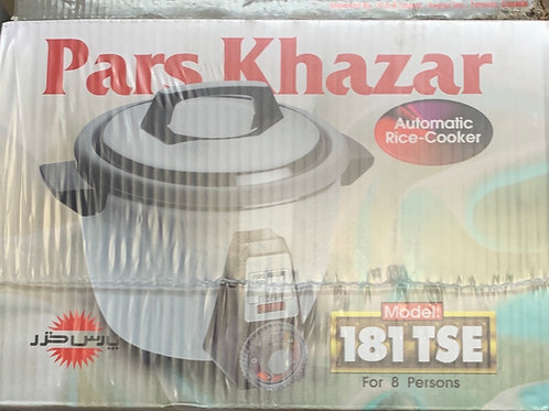 Pars Khazar Rice & Bread Cooker- 8 persons