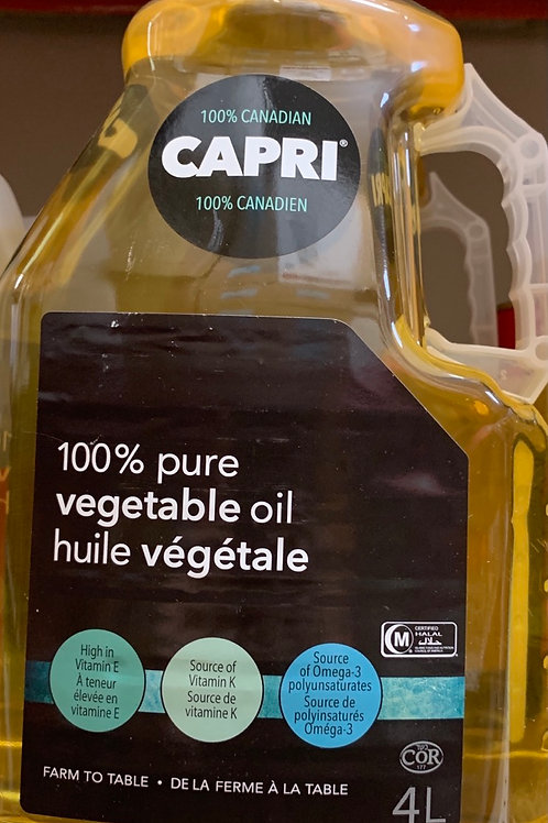 Carpri Vegetable Oil