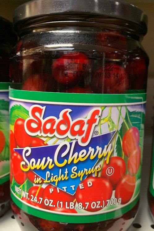 Sadaf Sour Cherry in syrup
