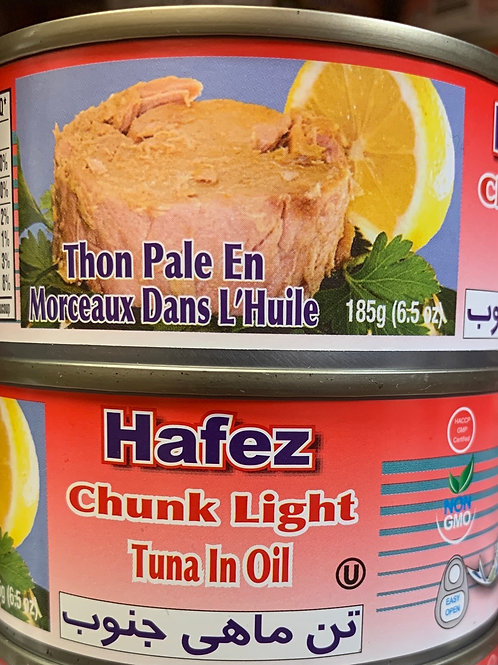 Hafez Chunk Light Tuna in Oil