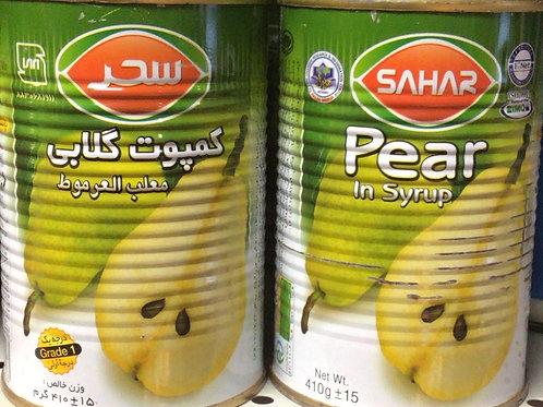 Sahar Pear in syrup
