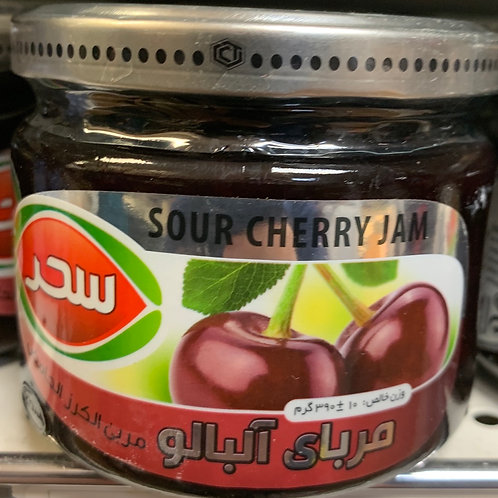 Sahar Sour cherry Jam & Honey