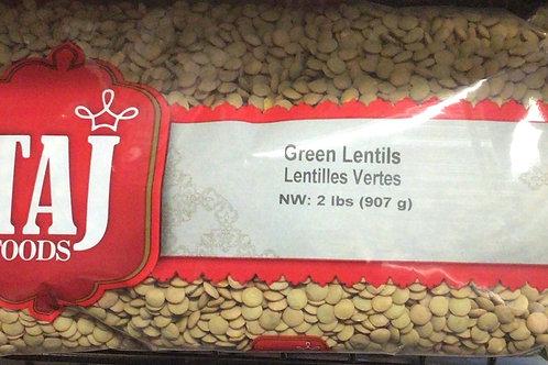 TAJ Green Lentil