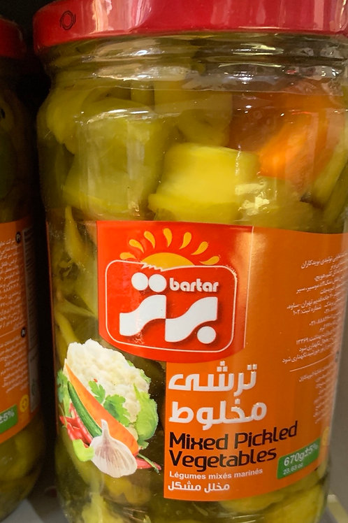Bartar Mixed Vegetable Pickle