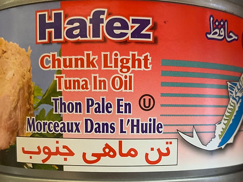 Hafez Chunk Light Tuna in Oil