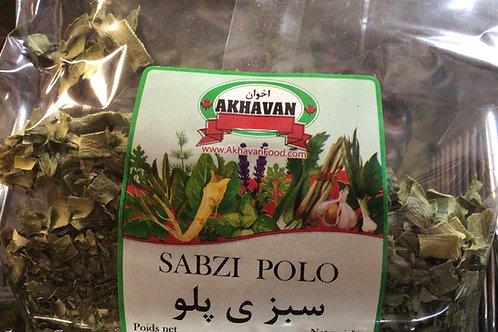 Akhavan Sabzi Polo