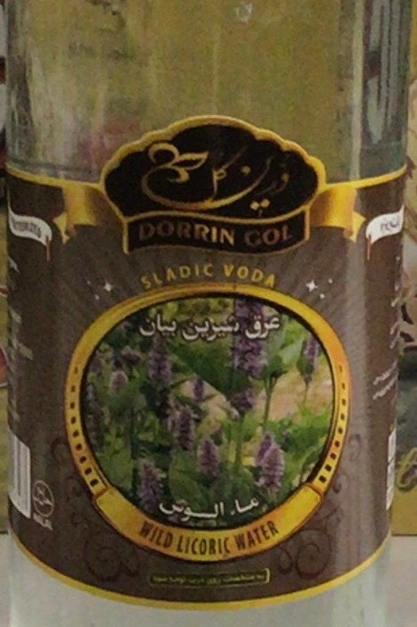 Dorrin Gol Wild Licoric Water