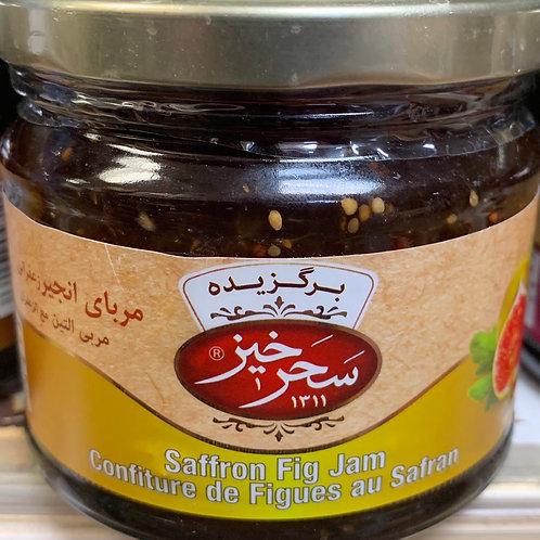 Sahar Khiz Saffron Fig Jam & Honey