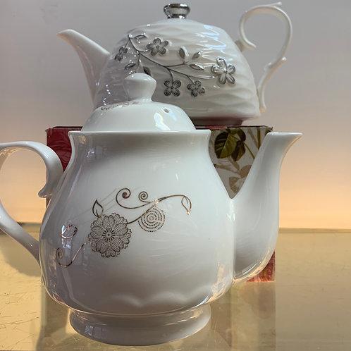 Ceramic Tea & Coffeepot