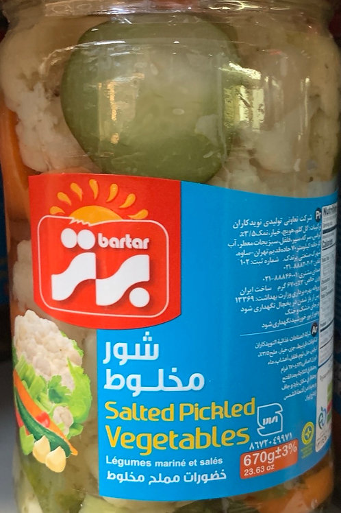Bartar Salted Pickled Vegetable