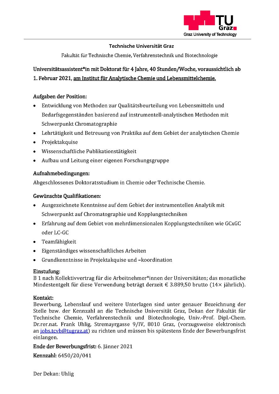 TU Graz_UnivAss Analytik Lebensmittel_20