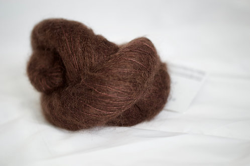 Chimi - 72% kid mohair 28% soie - expresso
