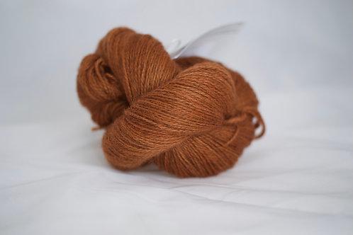 Lug fingering - 75% BFL 25% masham nsw - ambre