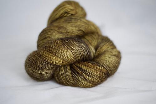 Tonkinoise single - 65% sw mérinos 20% soie 15% yack - bronze antique