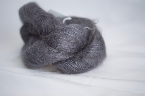 Chimi - 72% kid mohair 28% soie - plomb