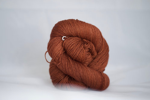 CatNap -75% sw mérinos 25% nylon FINGERING - esquisse n3 orange
