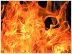 Fire Equals Toxic Gasses; Toxic Gasses Equal...