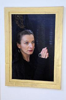 Isabelle Alméras-Heyraud, autoportrait imaginaire, intervention en milieu scolaire
