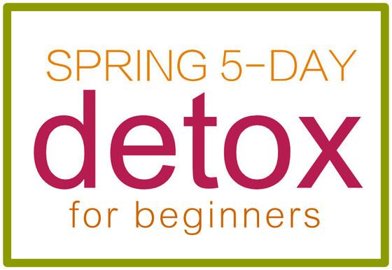 Announcing 5-Day Spring Detox!