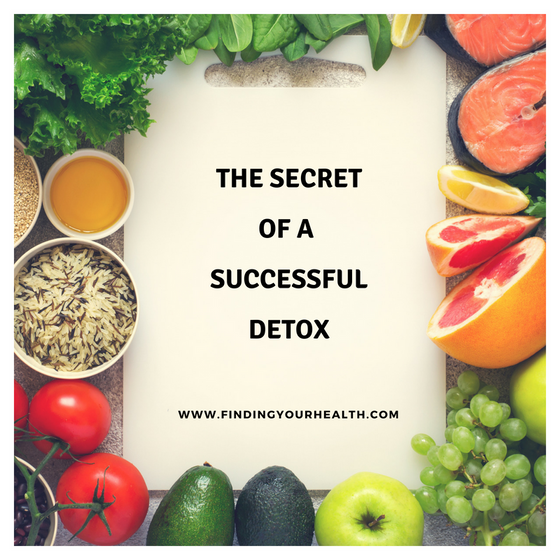 The Secret To A Successful Detox
