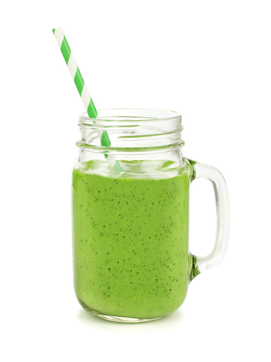 Ginger-Pineapple Hi-Protein Super Green Smoothie