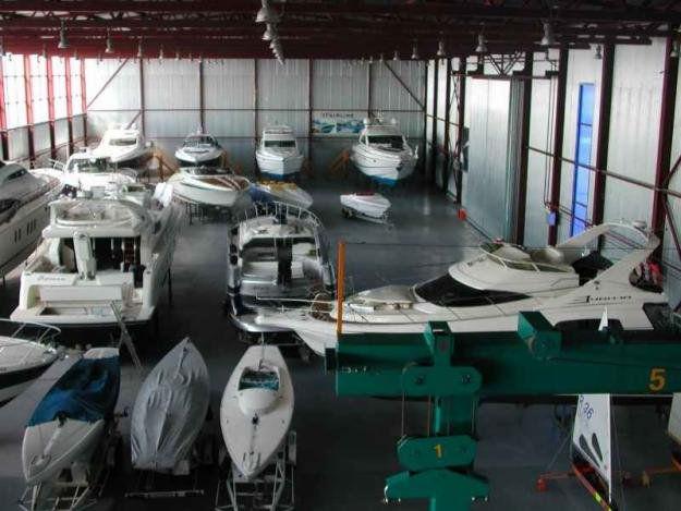 Межсезонное хранение катеров и лодок