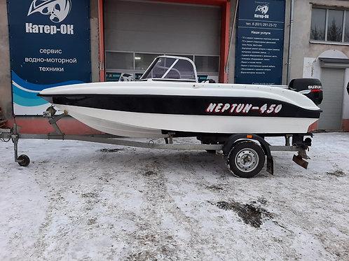 Моторная лодка Нептун 450