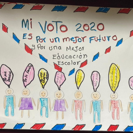 Future Voters Speak! Voices and Pictures from NAC's 2020 Youth Voting Poster Contest
