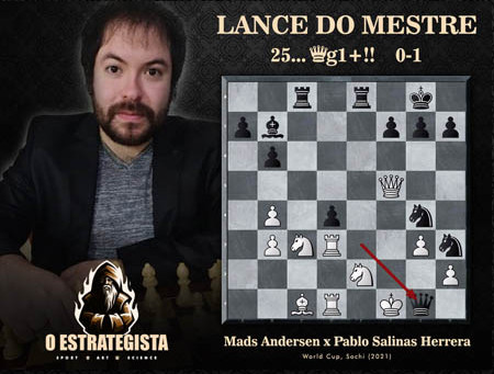 Lance do Mestre #040 - Mads Andersen x Pablo Salinas Herrera