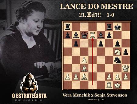 Lance do Mestre #037 - Vera Menchik x Sonja Graf Stevenson